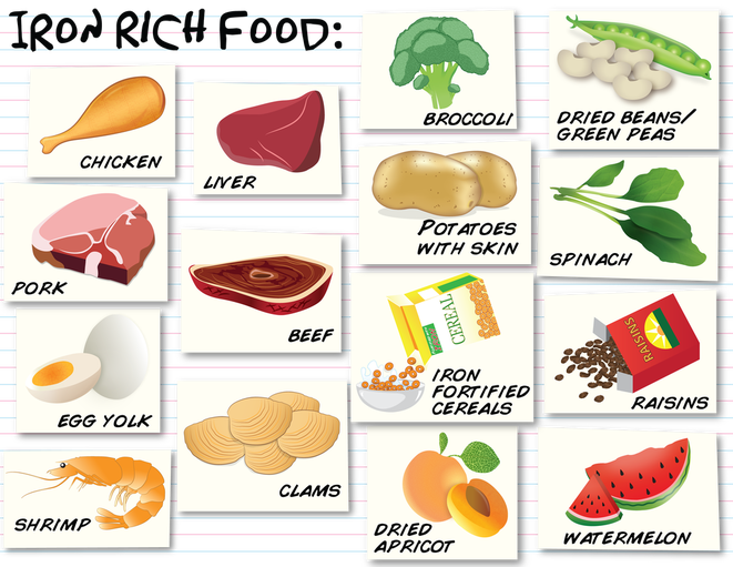 Iron and Iron Deficiency Facts